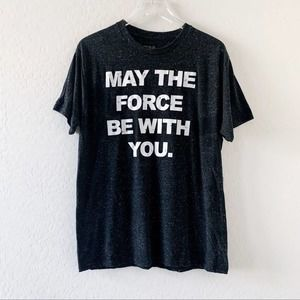 Star Wars may the force be with you tee shirt